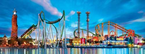 Paruqe Universal's Island of Adventure - Orlando, Florida