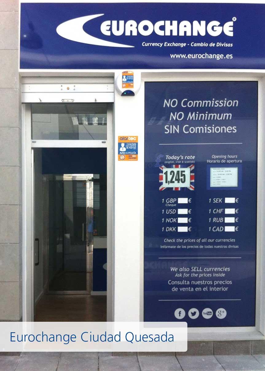 Nueva oficina de cambio de divisas en Ciudad Quesada, Alicante