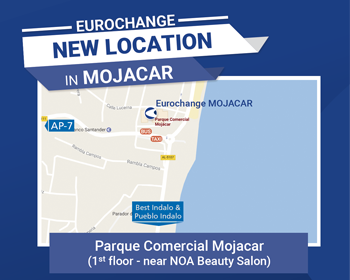 New Location Of The Currency Exchange Office Eurochange Mojacar Almeria
