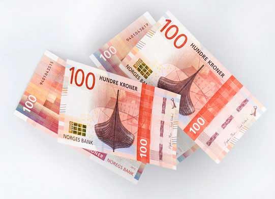 Billete de 100 NOK