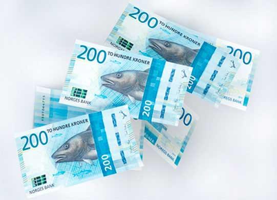 Billete de 200 NOK