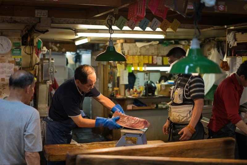 Mercado del pescado, Tokio