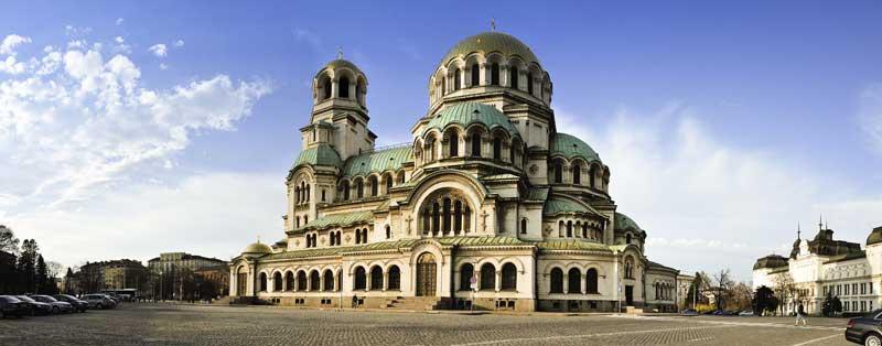 Catedral de Alejandro Nevski en Sofia, Bulgaria