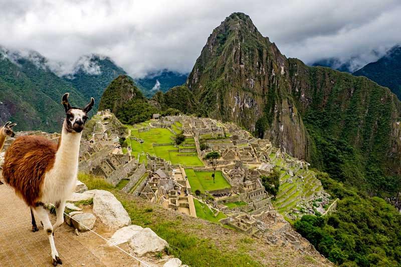 Vista de Machu Picchu
