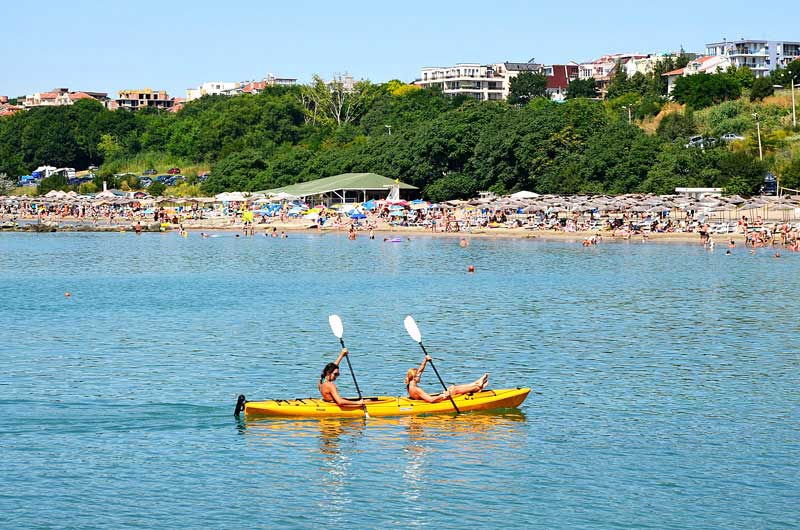 Playa de Sarafovo, Bulgaria