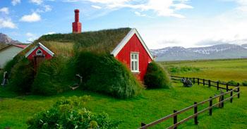 Casa de campo en Islandia