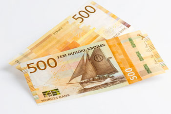 New 500 NOK note