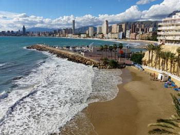 Cala del Mal Pas and the Marina