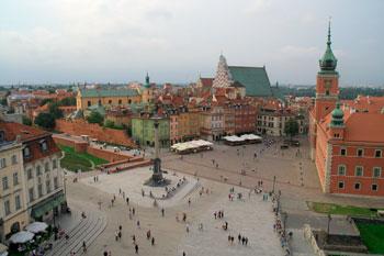 Ciudad antigua de varsovia