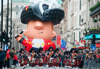 Desfile de Año Nuevo en Londres