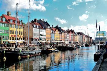 Nyhavn, Copenhaguen Denmark
