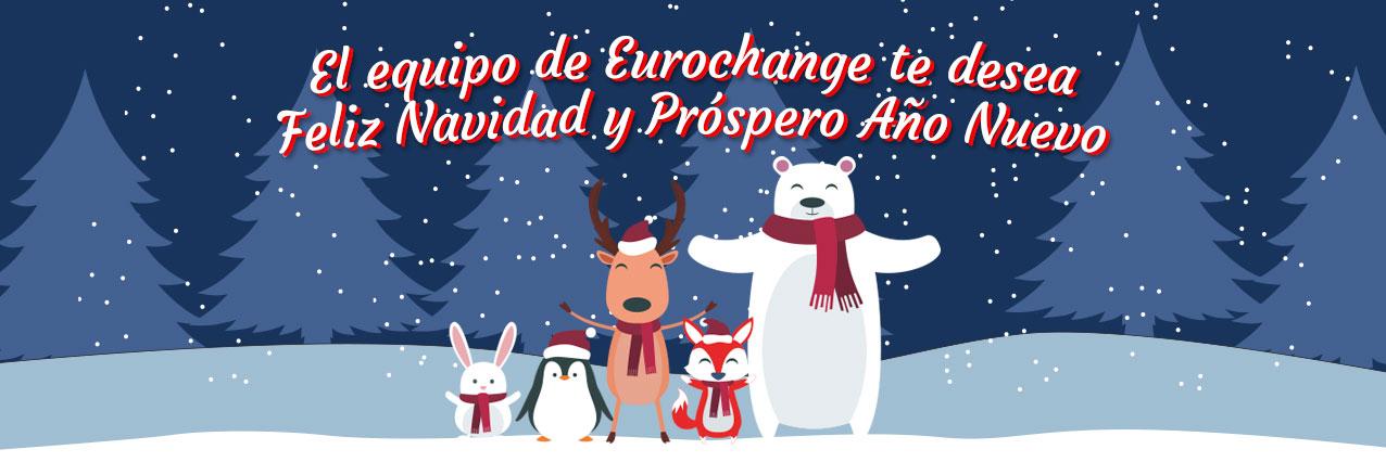 Feliz Navidad del equipo de Eurochange