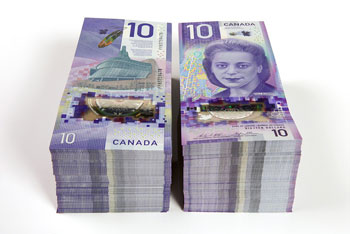 New note of 10 Canadian Dollars