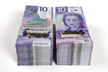 Nuevo billete de 10 Dólares Canadienses