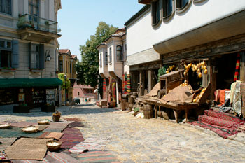 Old Town of Plovdiv in Bulgary