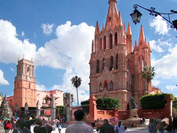 Parish Church San Miguel Archangel in San Miguel de Allende