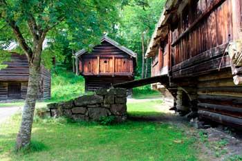 Folkemuseum in Oslo, Norway