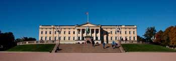 Palacio Real de Oslo, Noruega