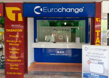 Oficina de cambio de moneda en Magaluf