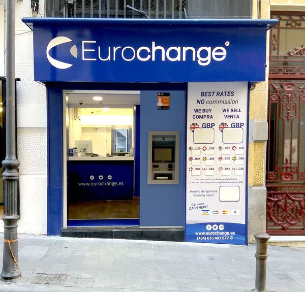Money exchange in Alicante