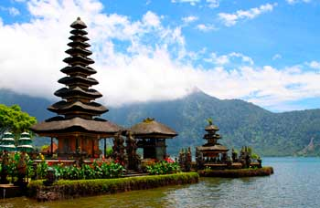 Pagoda in Indonesia