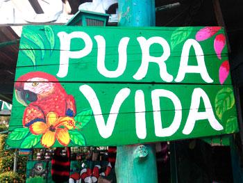 Pura Vida es la frase nacional de Costa Rica
