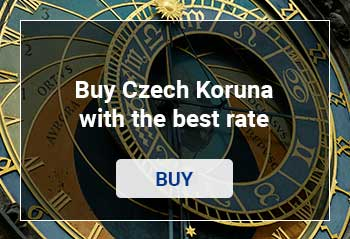 Buy Czech Koruna with the best rate in Spain