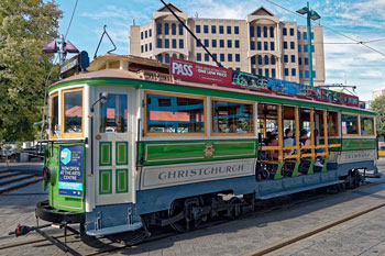 Historical Tram, Christchurch, New Zealand