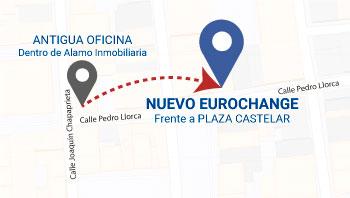 Nueva ubicación de Eurochange Torrevieja