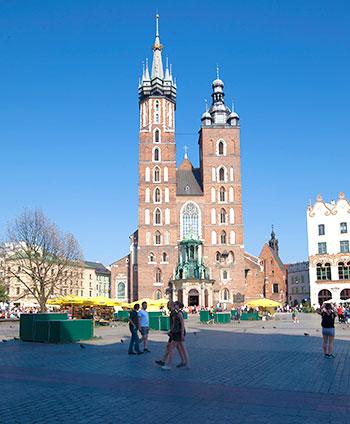Basílica de Santa María en Cracovia