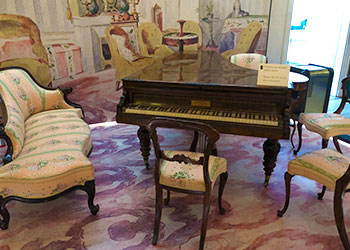 Room in the Museum of Chopin, Warsaw