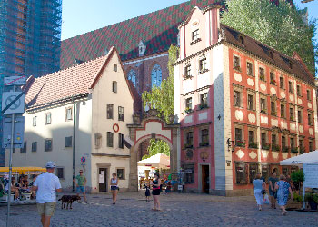 Hansel and gretel in Wroclaw
