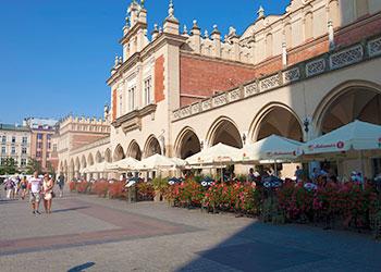 Lonja de los Paños en Cracovia