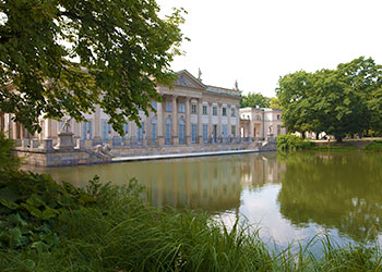 Palacio en la Isla, Parque Lazienki, Varsovia
