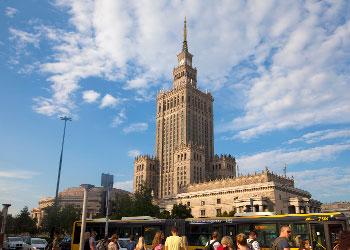 Palacio de Cultura y Ciencia de Varsovia (PKIN)