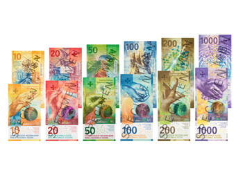 Nuevo billete de 100 Francos Suizos