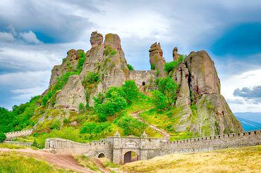 Fortaleza de Beogradchik en Bulgaria