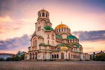 Iglesia de Santa Sofía en Sofía, Bulgaria