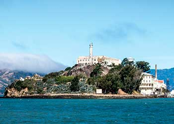 Alcatraz Jail on the San Francisco Bay