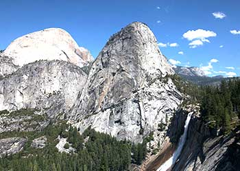 Nevada Fall at Yosemite