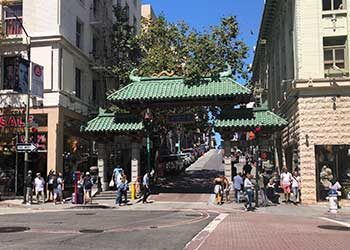 Puerta del Dragón en Chinatown, San Francisco