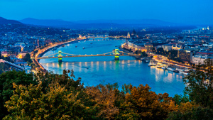 Escapada romántica en Budapest