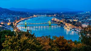 Romantic getaway in Budapest