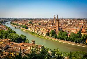 Romantic getaway in Verona