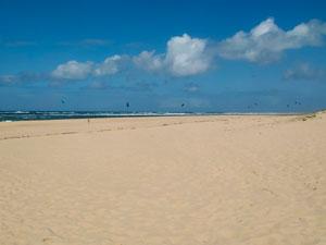 Playa cerca de las Dunas de Pilat