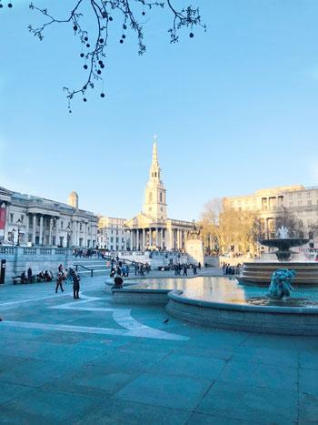 Trafalgar Square  - 10 cosas gratis que hacer en Londres