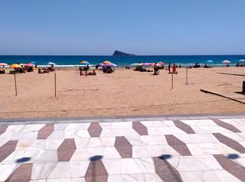 Benidorm Beach Safety: plots in Levante Beach