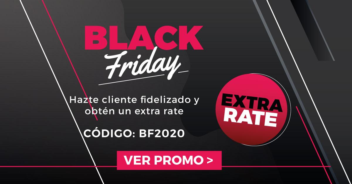 Promoción Black Friday 2020 en Eurochange