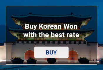 Buy Korean Won online with the best rate