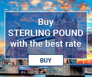 Buy online Sterling Pounds with the best rates.